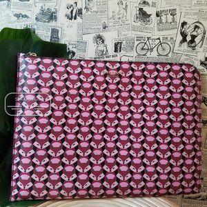 Kate Spade Fox Glove Laptop Case Sleeve Pink